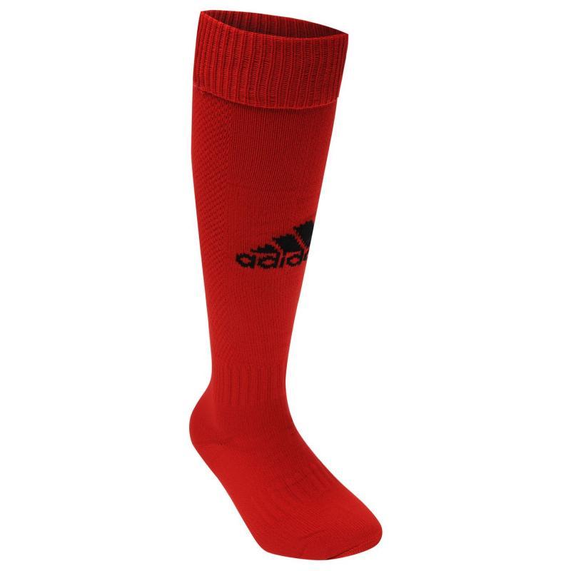 Ponožky adidas Milano Football Socks Mens Red/Black