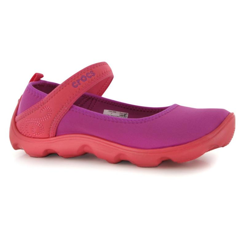 Crocs Busy DMJ Casual Shoes Junior Girls Violet
