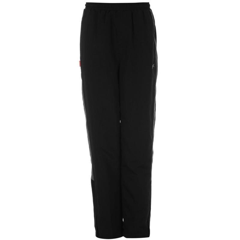 Tepláky Slazenger Open Hem Woven Pants Junior Boys Black