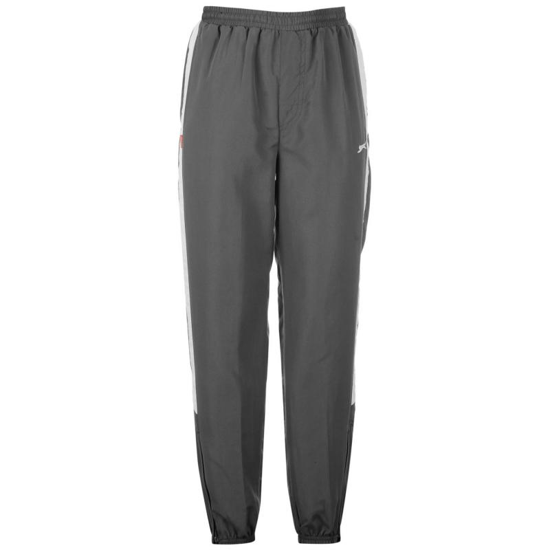 Tepláky Slazenger Closed Hem Woven Pants Juniors Charcoal