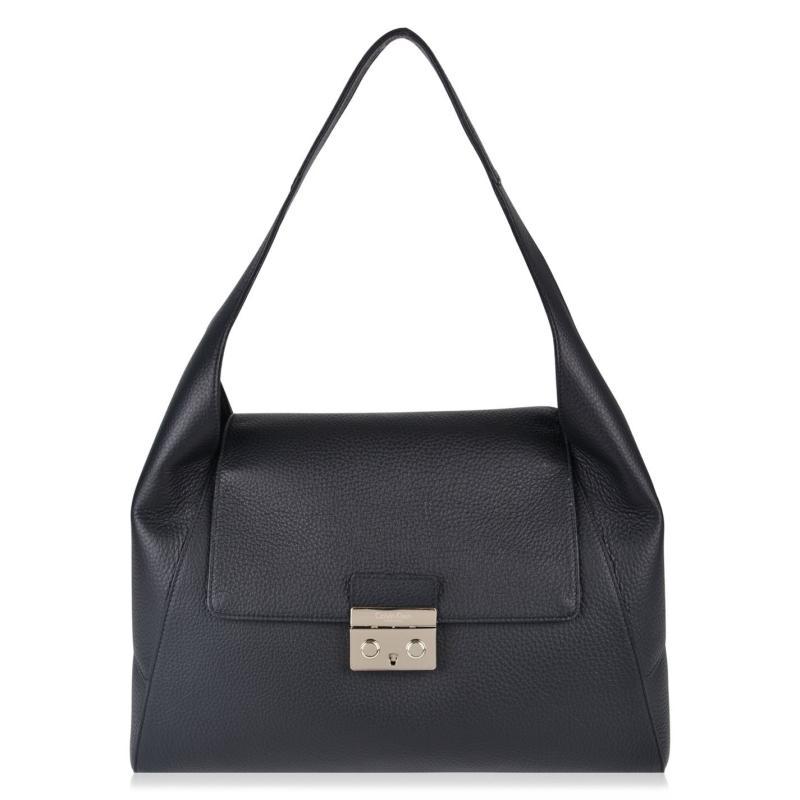 CALVIN KLEIN Satchel Bag Black