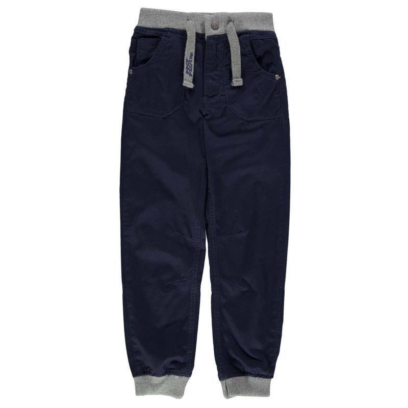 Kalhoty No Fear No Jog Jeans Junior Solid Navy