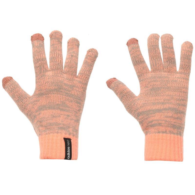 adidas Neo Phone Gloves Adult Sun Glow