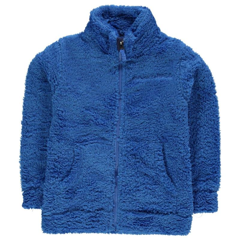 Harry Hall Embossay Junior Fleece Cobalt