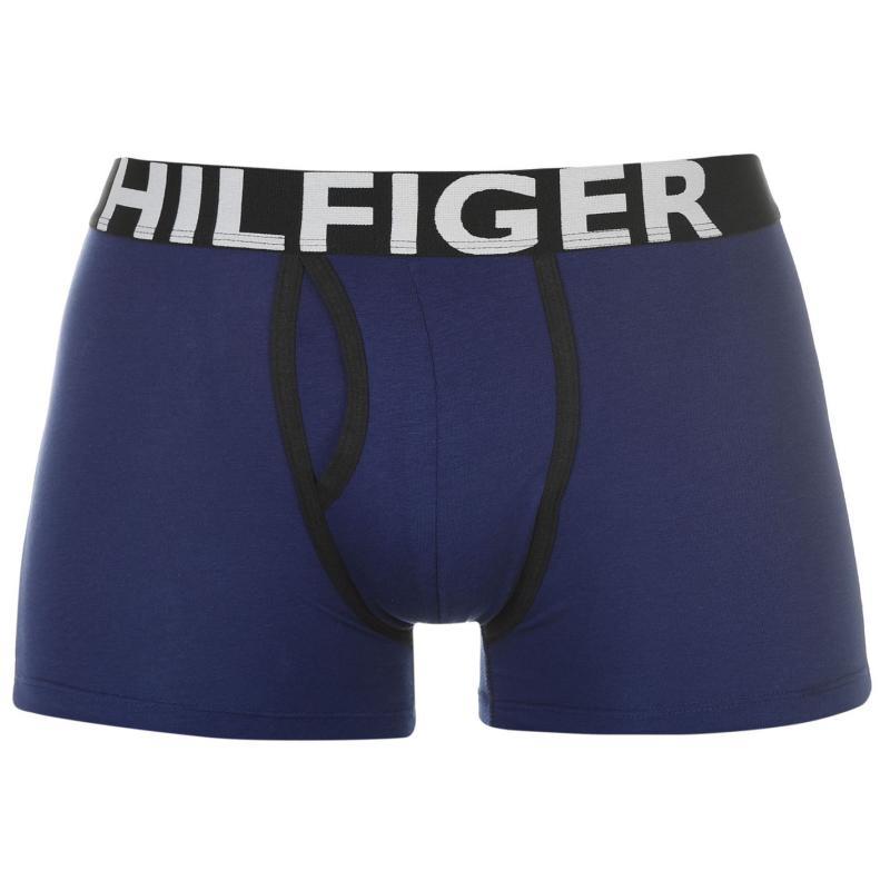 Spodní prádlo Tommy Hilfiger Contrast Trunks Royal