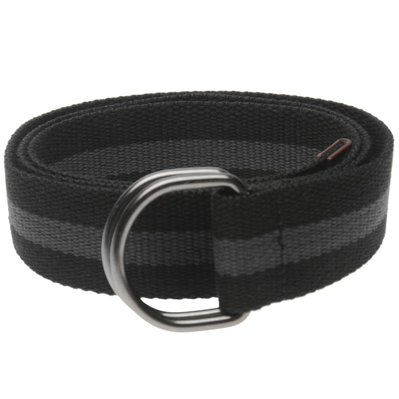 ONeill Stripe Belt Mens Black Out