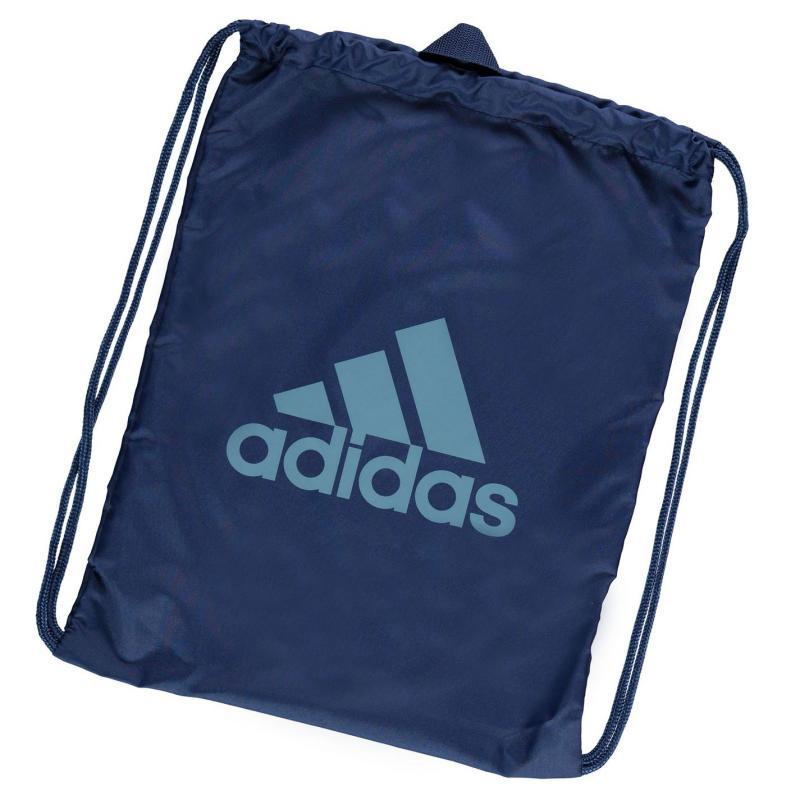 adidas Performance Logo Gym Sack Blue