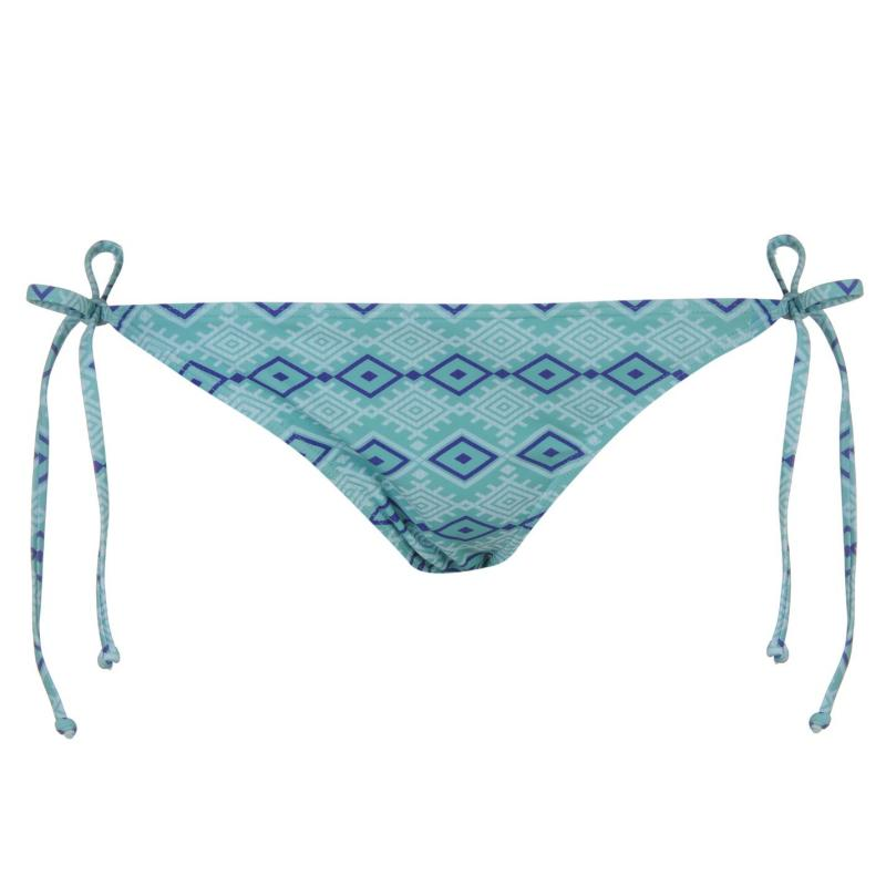 Plavky Roxy Waimea Bikini Bottoms Ladies Blue Ikat