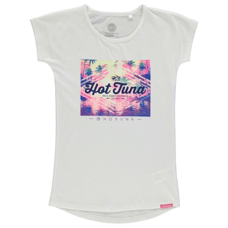 Hot Tuna Tuna T Shirt Gl73 White