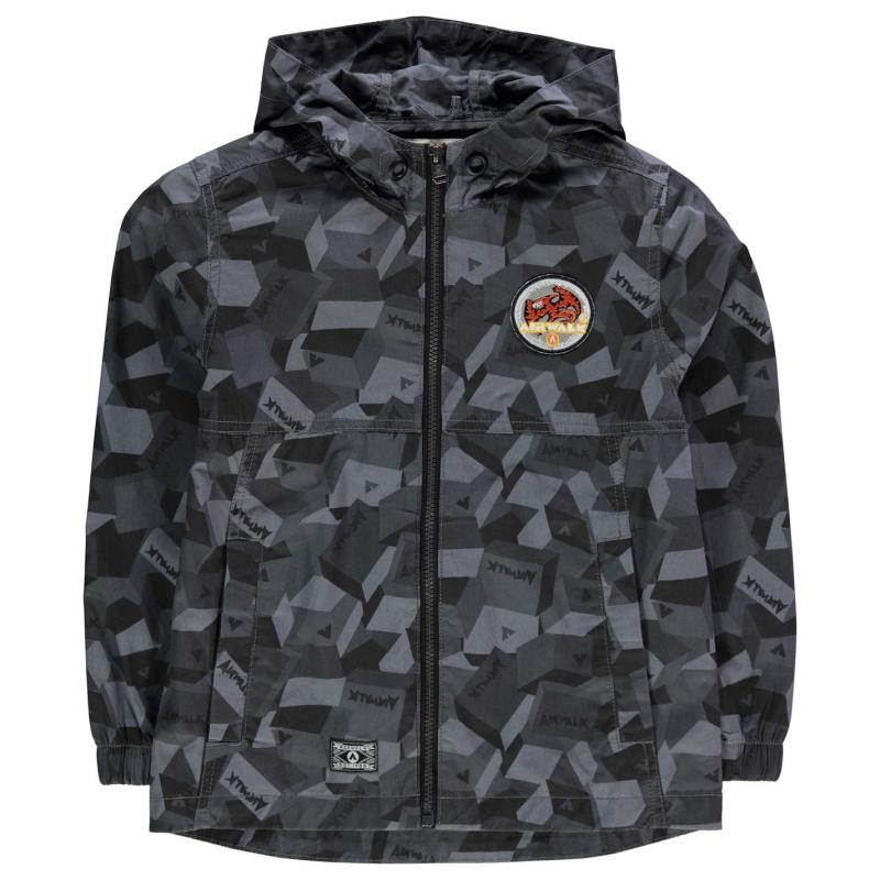 Bunda Airwalk Camo Jacket Junior Boys Black Camo