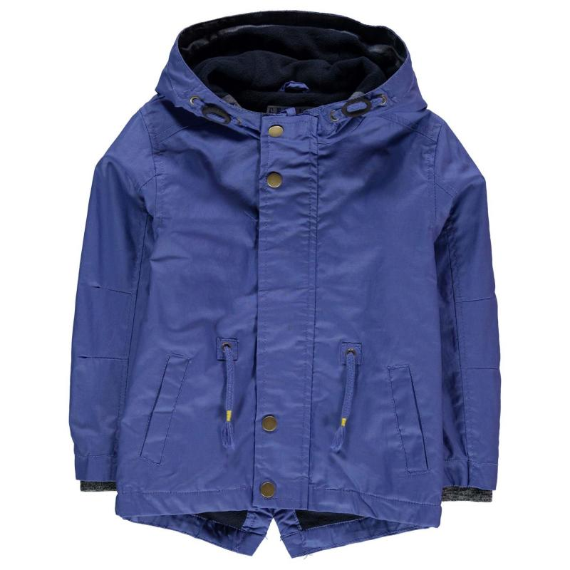 Bunda Crafted Rain Mac Child Boys Blue