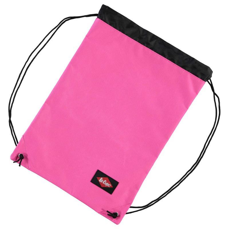 Lee Cooper Gym Sack Pink