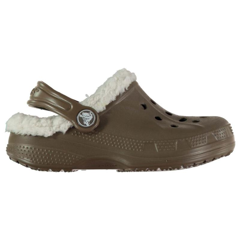 Boty Crocs Ralen Lined Clogs Infant Boys Walnut/Oatmeal