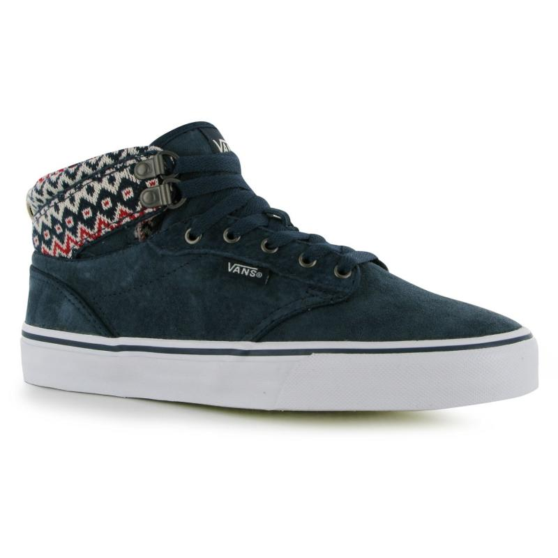 Boty Vans Atwood Hi Top Trainers Ladies Navy