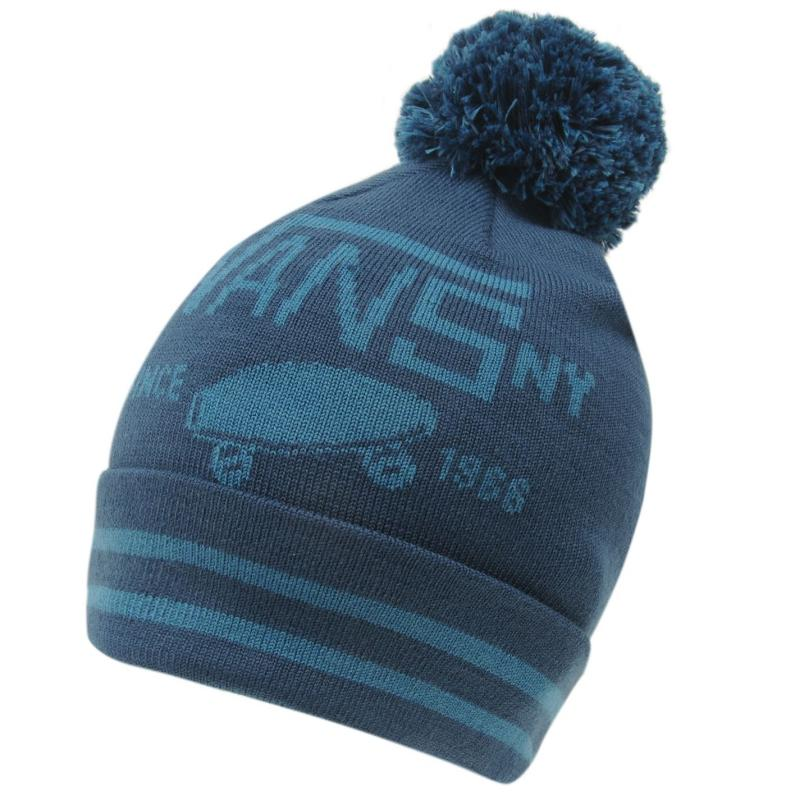 Vans Patch Pom Pom Beanie Dark Denim