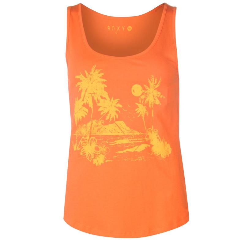 Roxy Ibiza Vibe Tank Top Ladies Orange