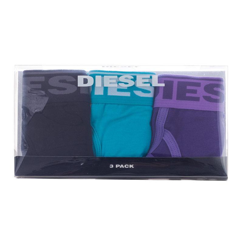 Spodní prádlo Diesel Womens Oxy 3 Pack Briefs Multi colour