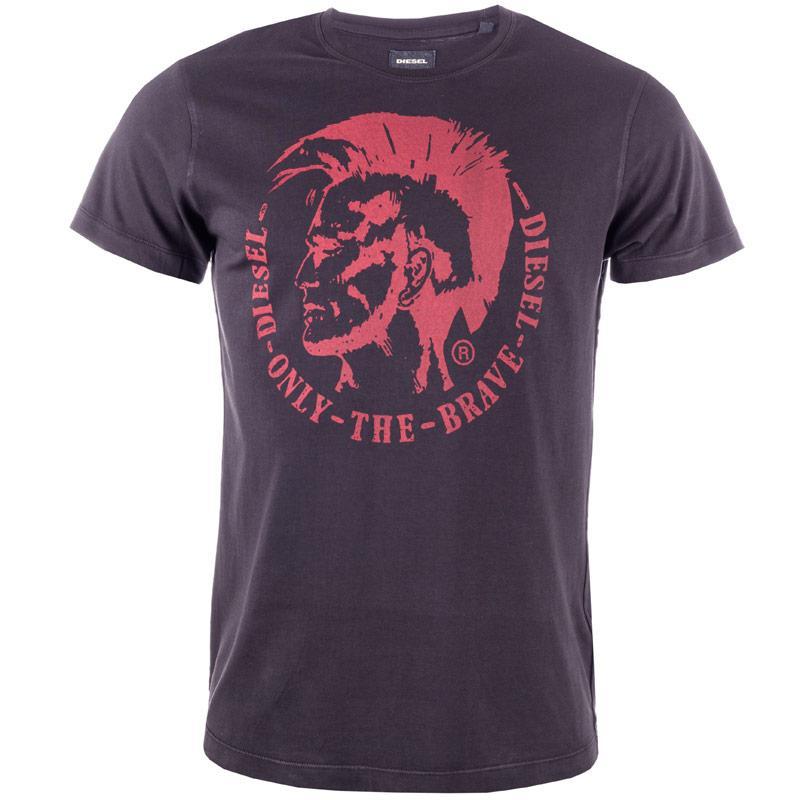 Tričko Diesel Mens T-Ulysse T-Shirt Navy