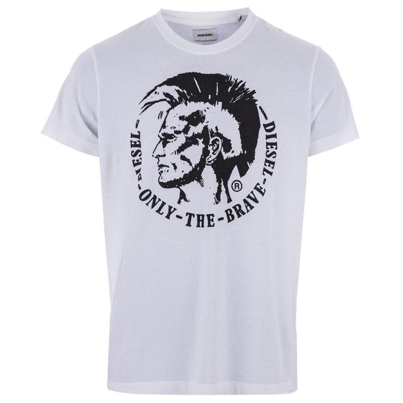 Tričko Diesel Mens T-Ulysse T-Shirt White