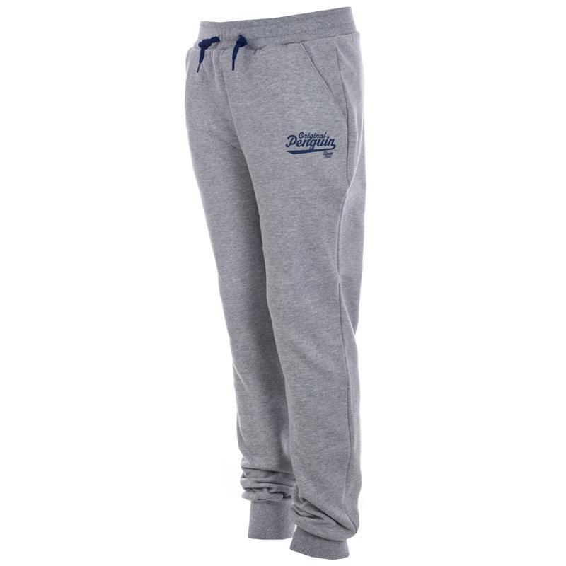 Kalhoty Original Penguin Infant Boys Core Fleece Jog Pants Grey...