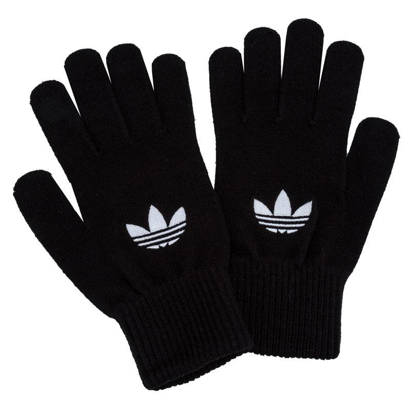 Adidas Originals Mens Trefoil Gloves Black