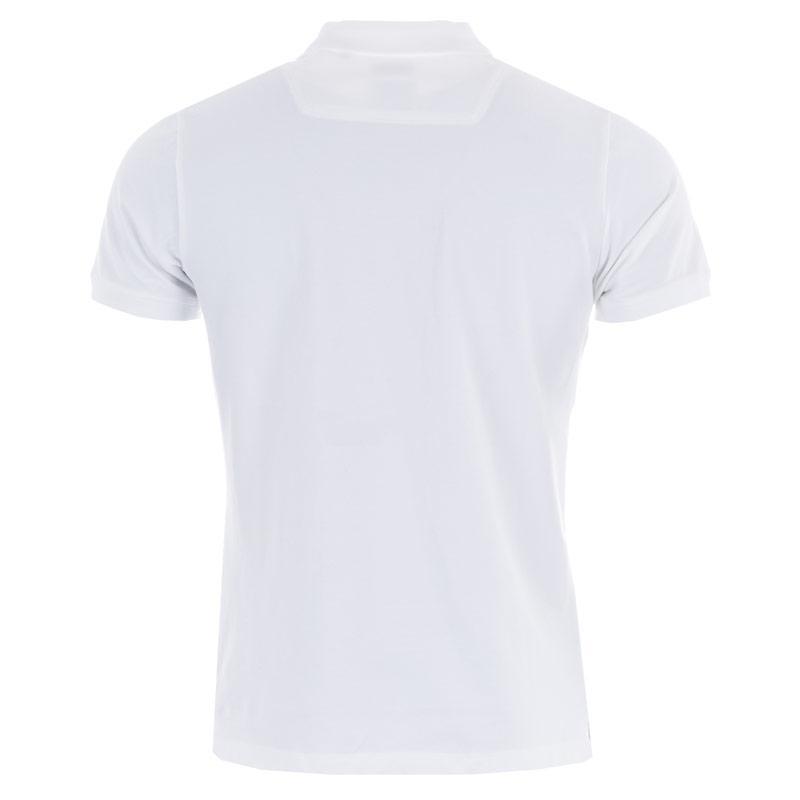 Diesel Mens T-Yahei Polo Shirt White