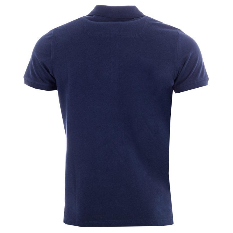 Diesel Mens T-Yahei Polo Shirt Navy