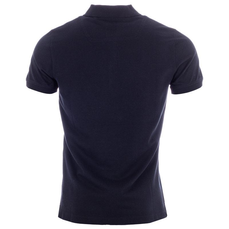 Diesel Mens T-Yahei Polo Shirt Black