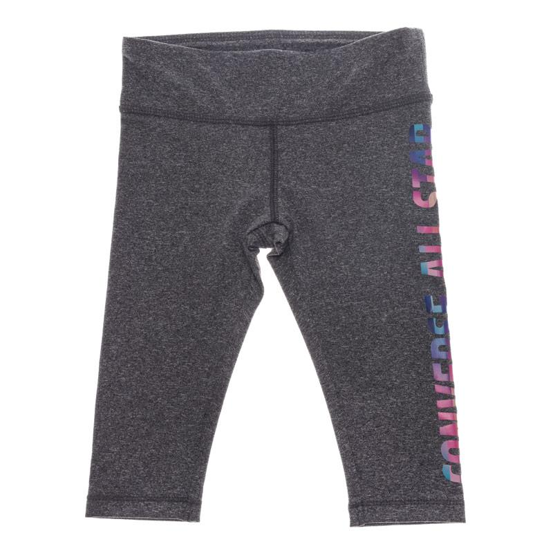 Converse Infant All Star Capri Leggings Charcoal