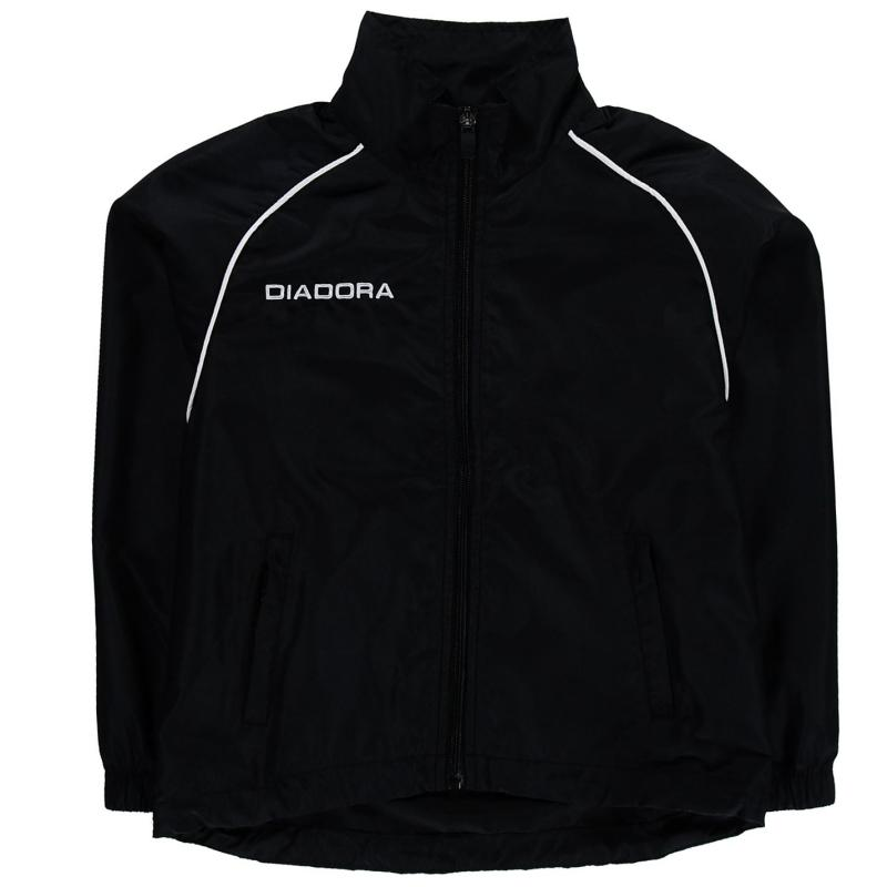 Bunda Diadora Madrid Jacket Junior Boys Dark Blue