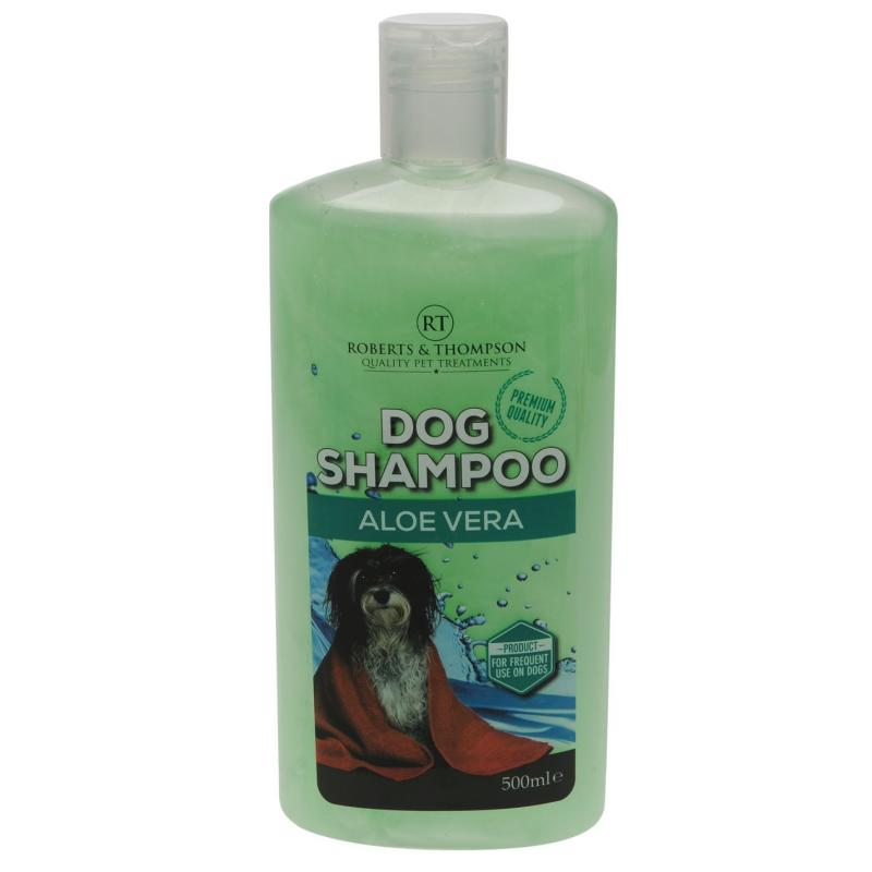 Canine anal aloe vera