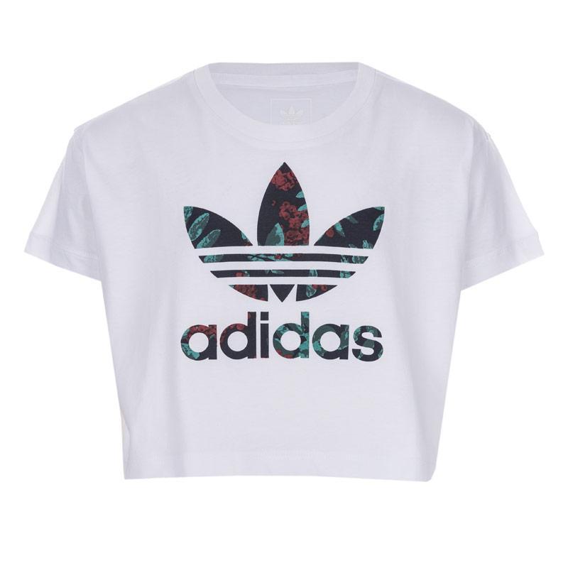 Adidas Originals Infant Girls Superg T-Shirt White