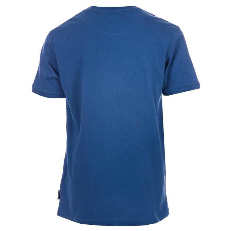 Tričko Ben Sherman Infant Boys Mod Badge T-Shirt Blue
