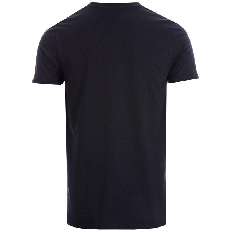 Tričko Get The Label Mens DC Originals Tiles T-Shirt Black