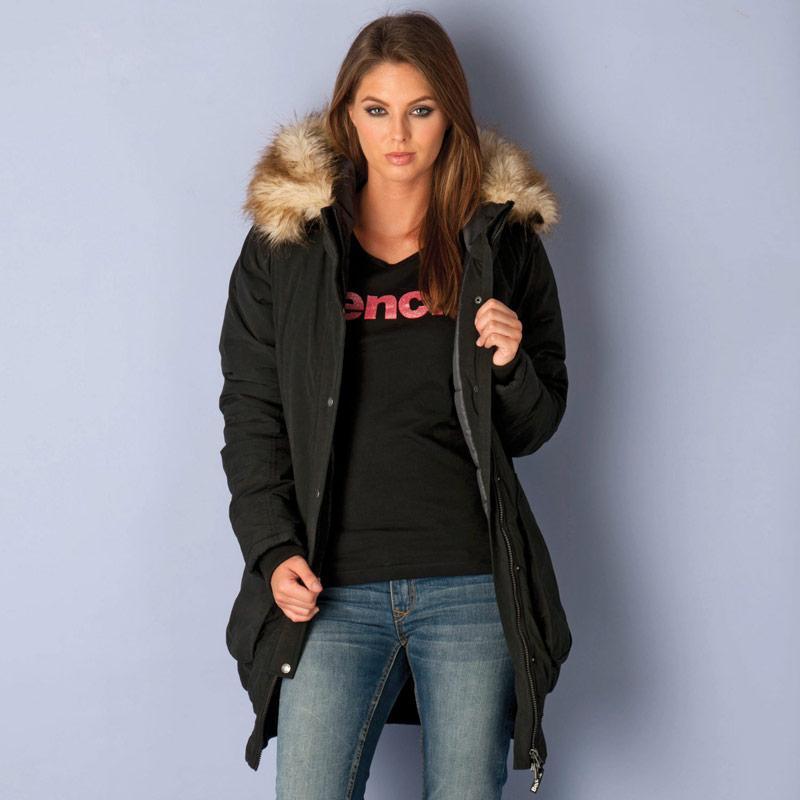 Bunda Bench Womens Icefloe Coat Black