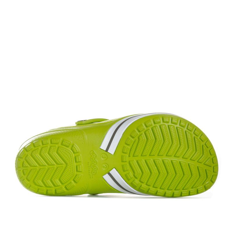 Boty Crocs Children Clogs Kilby Beach Shoe Green