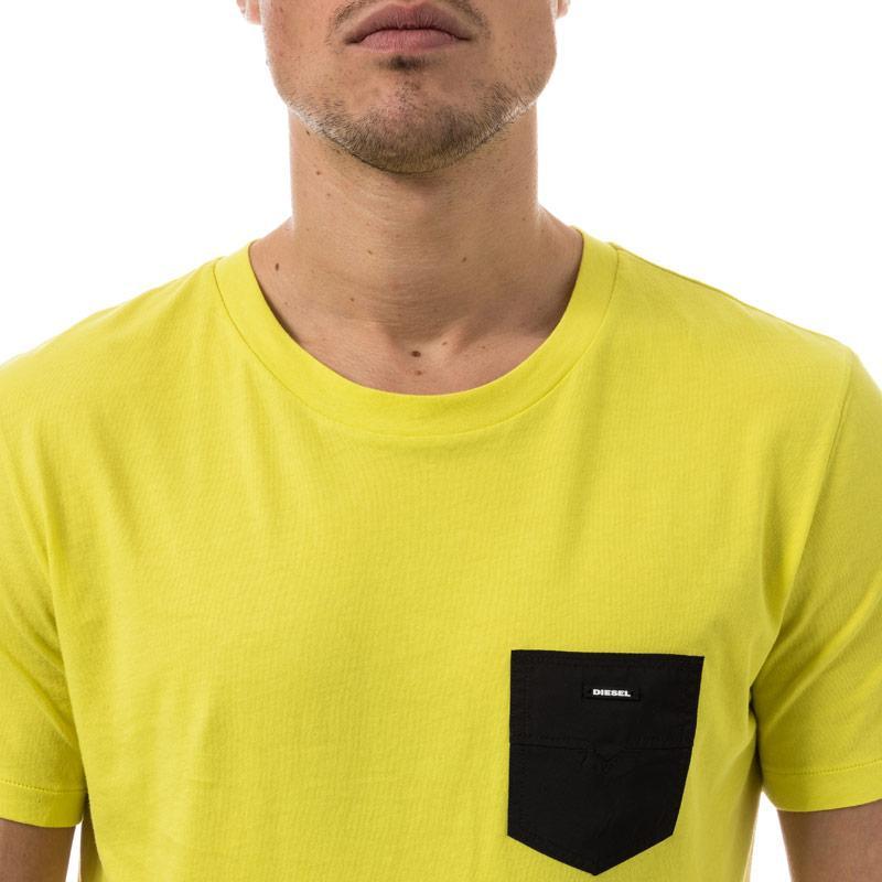 Tričko Diesel Mens Beachwear Parsen T-Shirt Coral