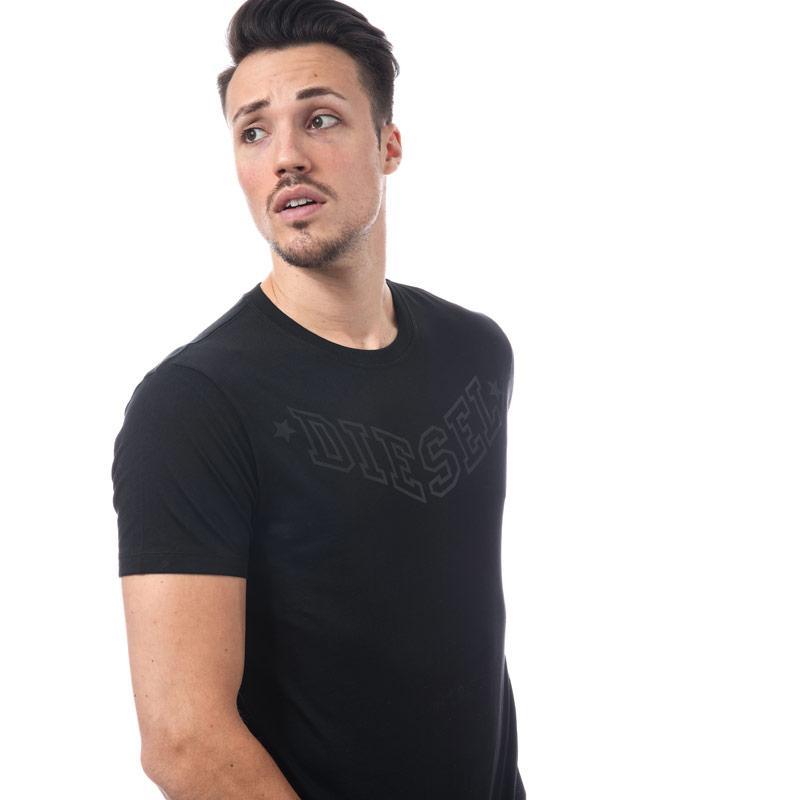 Tričko Diesel Mens T-Joe Crew Neck T-shirt Black