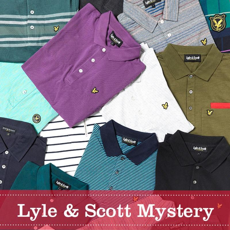 Lyle And Scott Vintage Mens Mystery Shop Polo