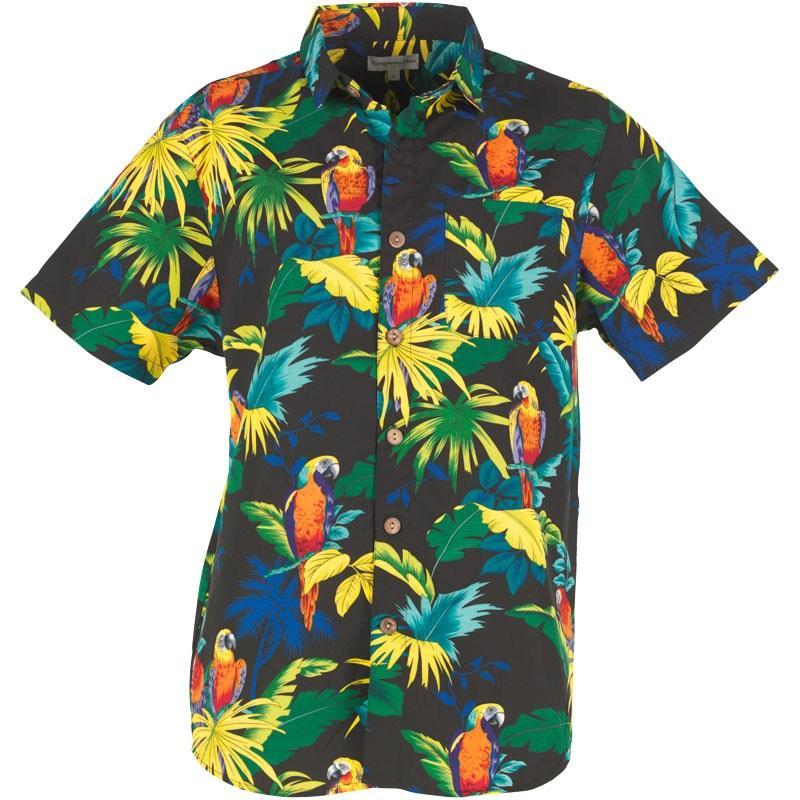 Košile Kangaroo Poo Mens AOP Shirt Black Multi