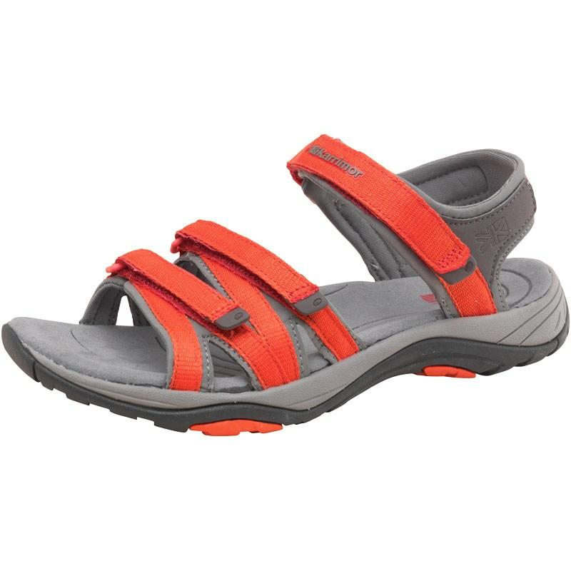 Karrimor Womens Strappy II Webbing Sandals Red