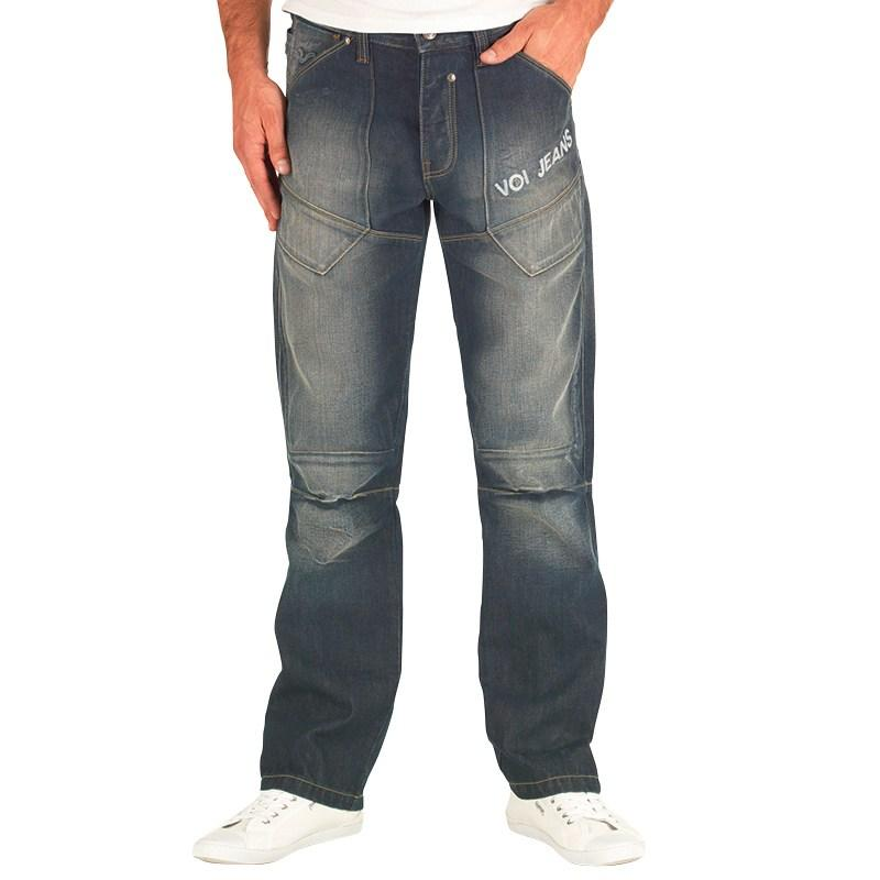 Voi Jeans Mens Broughton Jeans Dark Wash