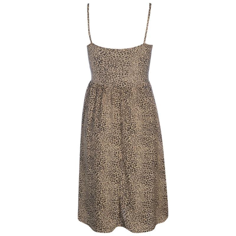 Šaty Golddigga Midi Dress Ladies Cobolt Blue