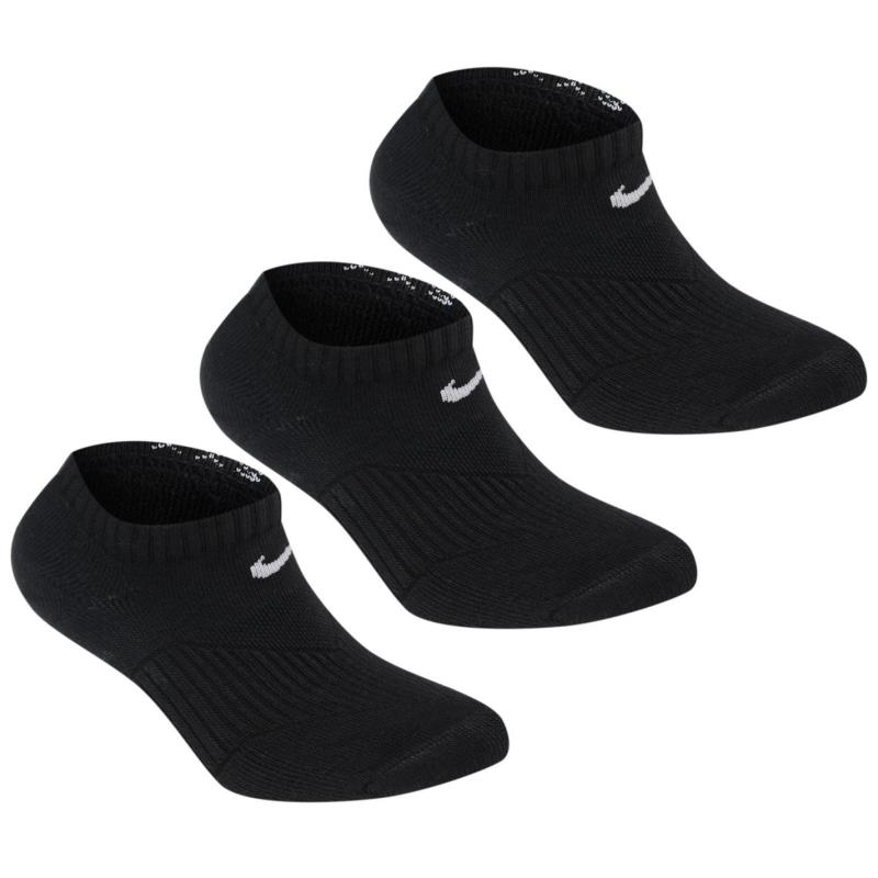 Ponožky Nike 3 Pack No Show Socks Junior White
