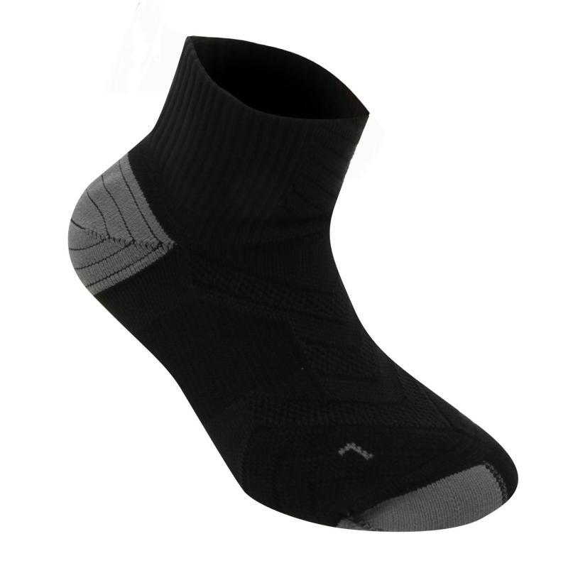 Ponožky Nike Elite Running Socks Black
