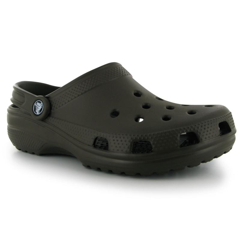 Boty Crocs Classic Mens Sandals Brown