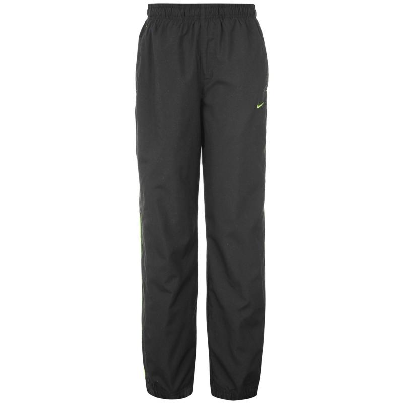 Tepláky Nike Rival Tracksuit Bottoms Junior Black/Green