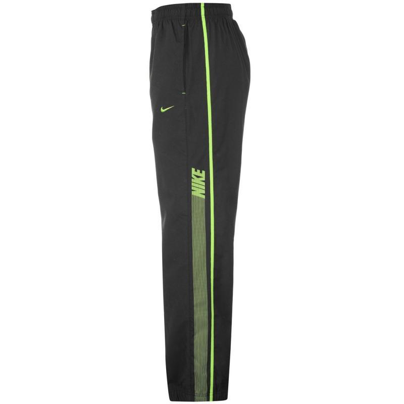 Tepláky Nike Rival Tracksuit Bottoms Junior Black/Green
