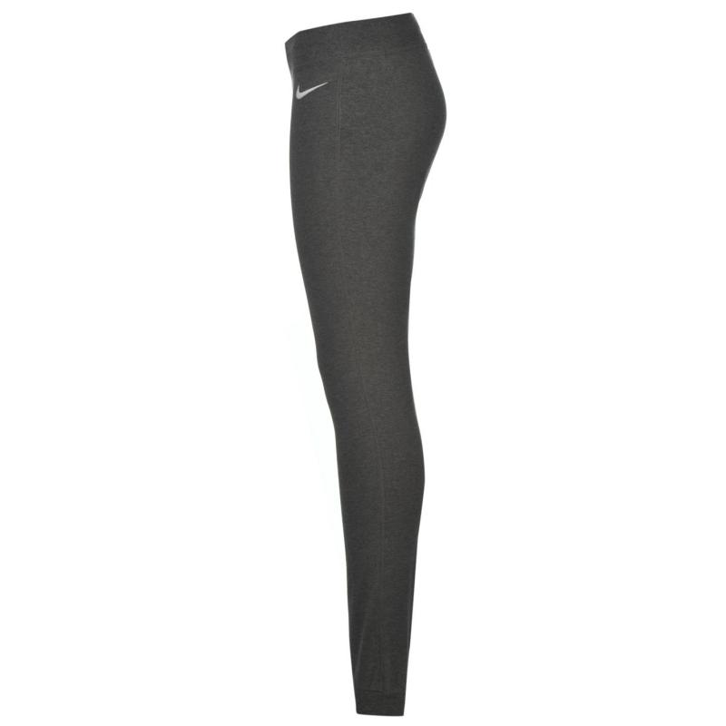 Tepláky Nike Cuffed Jersey Pants Ladies Dark Grey