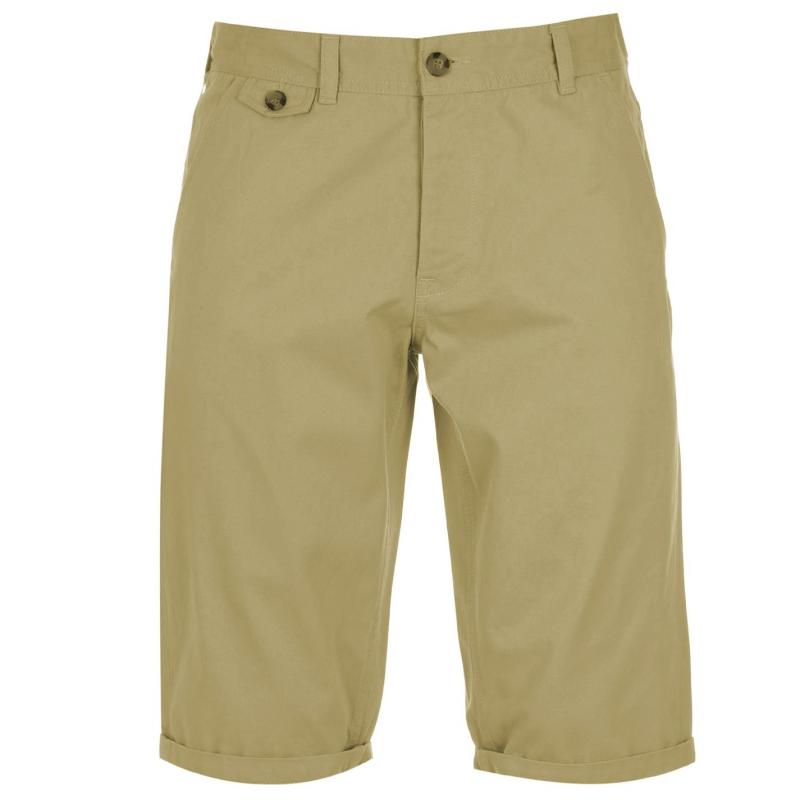 Kraťasy Kangol Chino Shorts Mens Tobacco